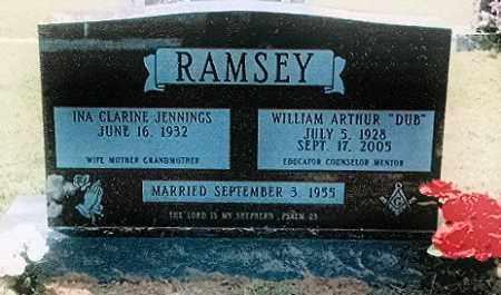 JENNINGS RAMSEY, INA - Izard County, Arkansas | INA JENNINGS RAMSEY - Arkansas Gravestone Photos