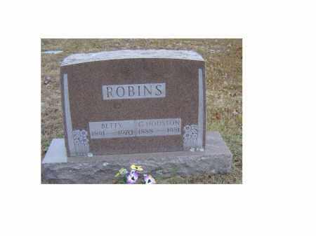 ROBINS, SARAH ELIZABETH 'BETTY' - Izard County, Arkansas | SARAH ELIZABETH 'BETTY' ROBINS - Arkansas Gravestone Photos