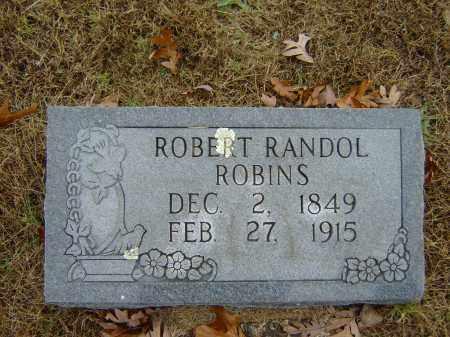 ROBINS, ROBERT RANDOL (OBIT) - Izard County, Arkansas | ROBERT RANDOL (OBIT) ROBINS - Arkansas Gravestone Photos
