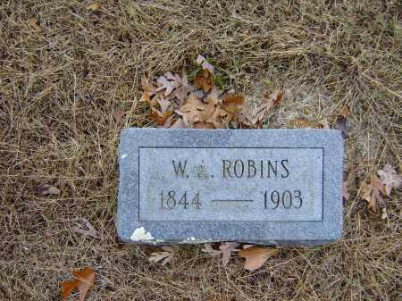 ROBINS, WILLIAM ANDERSON - Izard County, Arkansas | WILLIAM ANDERSON ROBINS - Arkansas Gravestone Photos