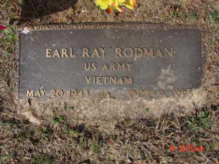 RODMAN  (VETERAN VIET), EARL RAY - Izard County, Arkansas   EARL RAY RODMAN  (VETERAN VIET) - Arkansas Gravestone Photos