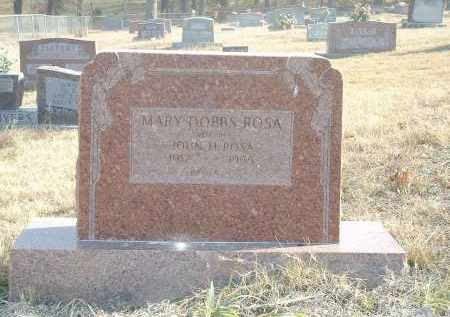 DOBBS ROSA, MARY - Izard County, Arkansas | MARY DOBBS ROSA - Arkansas Gravestone Photos