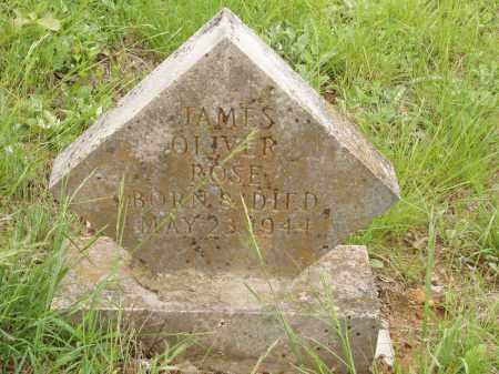 ROSE, JAMES OLIVER - Izard County, Arkansas   JAMES OLIVER ROSE - Arkansas Gravestone Photos