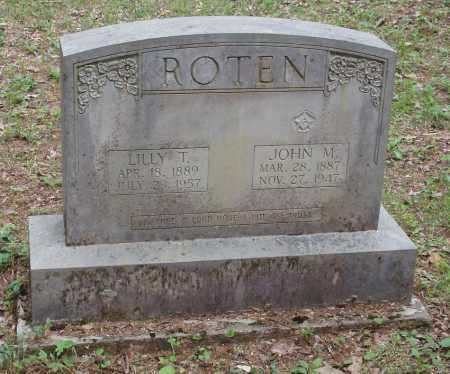 ROTEN, LILLY T - Izard County, Arkansas | LILLY T ROTEN - Arkansas Gravestone Photos