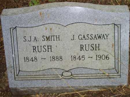 SMITH RUSH, SARAH JANE ARMINDA - Izard County, Arkansas | SARAH JANE ARMINDA SMITH RUSH - Arkansas Gravestone Photos