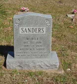 SANDERS, MYRTLE - Izard County, Arkansas | MYRTLE SANDERS - Arkansas Gravestone Photos