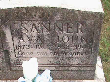 SANNER, AVA - Izard County, Arkansas | AVA SANNER - Arkansas Gravestone Photos