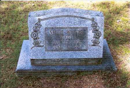 WEAVER SCOTT, NELLIE - Izard County, Arkansas   NELLIE WEAVER SCOTT - Arkansas Gravestone Photos