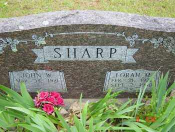 SHARP, LORAH MERLE - Izard County, Arkansas | LORAH MERLE SHARP - Arkansas Gravestone Photos