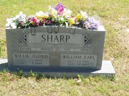 FLOYD SHARP, WILLIE - Izard County, Arkansas | WILLIE FLOYD SHARP - Arkansas Gravestone Photos