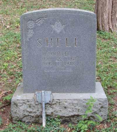 SHELL, ROBT. E - Izard County, Arkansas | ROBT. E SHELL - Arkansas Gravestone Photos