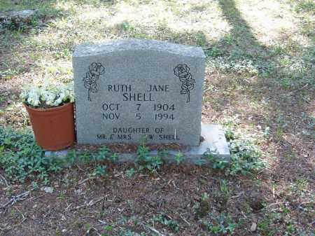 SHELL, RUTH JANE - Izard County, Arkansas | RUTH JANE SHELL - Arkansas Gravestone Photos