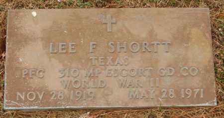 SHORTT  (VETERAN WWII), LEE F - Izard County, Arkansas | LEE F SHORTT  (VETERAN WWII) - Arkansas Gravestone Photos