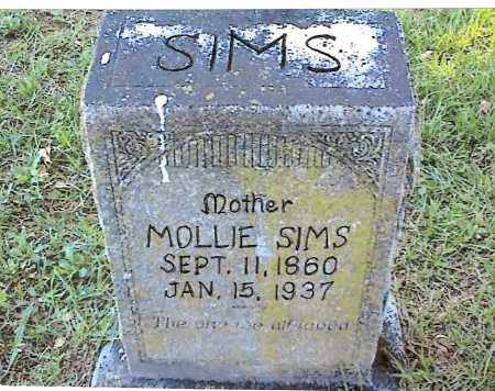 SIMS, MOLLIE - Izard County, Arkansas | MOLLIE SIMS - Arkansas Gravestone Photos
