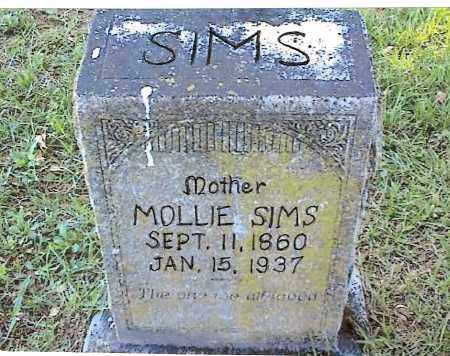 TAYLOR SIMS, MOLLIE - Izard County, Arkansas | MOLLIE TAYLOR SIMS - Arkansas Gravestone Photos