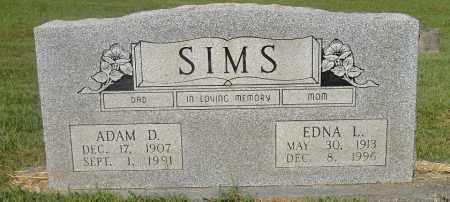 SIMS, EDNA LORI - Izard County, Arkansas | EDNA LORI SIMS - Arkansas Gravestone Photos
