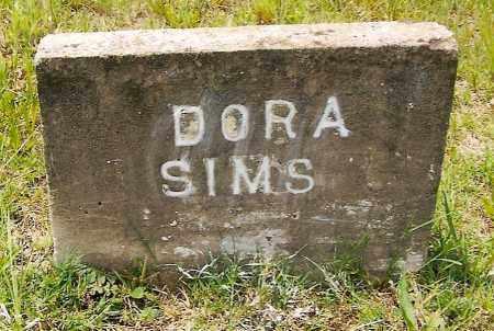 SIMS, DORA - Izard County, Arkansas | DORA SIMS - Arkansas Gravestone Photos