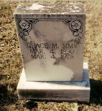 MATTHEWS SIMS, GRACE MARGARET - Izard County, Arkansas | GRACE MARGARET MATTHEWS SIMS - Arkansas Gravestone Photos