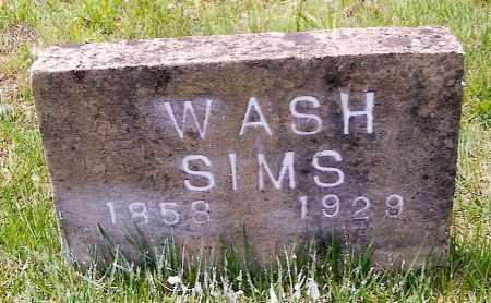 SIMS, GEORGE WASHINGTON - Izard County, Arkansas   GEORGE WASHINGTON SIMS - Arkansas Gravestone Photos
