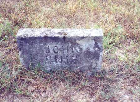 SIMS, JOHN - Izard County, Arkansas | JOHN SIMS - Arkansas Gravestone Photos