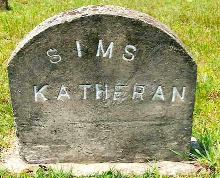 SIMS, KATHERAN - Izard County, Arkansas   KATHERAN SIMS - Arkansas Gravestone Photos