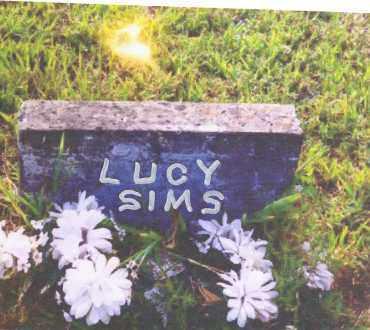 SIMS, LUCY - Izard County, Arkansas | LUCY SIMS - Arkansas Gravestone Photos