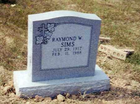 SIMS, RAYMOND WILLIAM - Izard County, Arkansas   RAYMOND WILLIAM SIMS - Arkansas Gravestone Photos