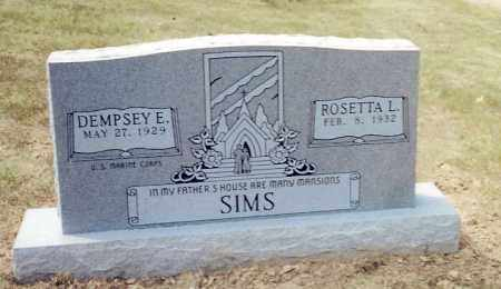 CRUTCHFIELD SIMS, ROSETTA LANELLE - Izard County, Arkansas   ROSETTA LANELLE CRUTCHFIELD SIMS - Arkansas Gravestone Photos