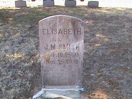 SMITH, ELISABETH - Izard County, Arkansas | ELISABETH SMITH - Arkansas Gravestone Photos