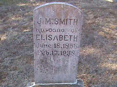 SMITH, J. M. - Izard County, Arkansas | J. M. SMITH - Arkansas Gravestone Photos