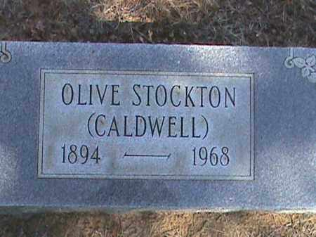 STOCKTON, OLIVE - Izard County, Arkansas | OLIVE STOCKTON - Arkansas Gravestone Photos