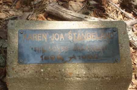STRANGELAND, KAREN JOA - Izard County, Arkansas | KAREN JOA STRANGELAND - Arkansas Gravestone Photos