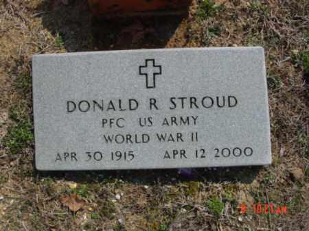 STROUD  (VETERAN WWII), DONALD R - Izard County, Arkansas | DONALD R STROUD  (VETERAN WWII) - Arkansas Gravestone Photos