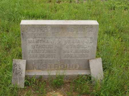 CORNELIUS STROUD, MARTHA J - Izard County, Arkansas | MARTHA J CORNELIUS STROUD - Arkansas Gravestone Photos