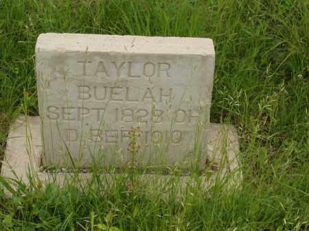 TAYLOR, BUELAH - Izard County, Arkansas | BUELAH TAYLOR - Arkansas Gravestone Photos