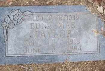 TAYLOR, EDNA MAE - Izard County, Arkansas   EDNA MAE TAYLOR - Arkansas Gravestone Photos