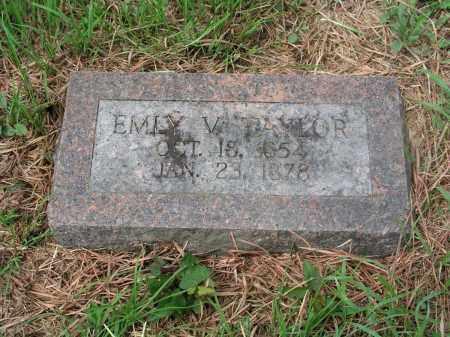 TAYLOR, EMILY VICTORIA - Izard County, Arkansas   EMILY VICTORIA TAYLOR - Arkansas Gravestone Photos
