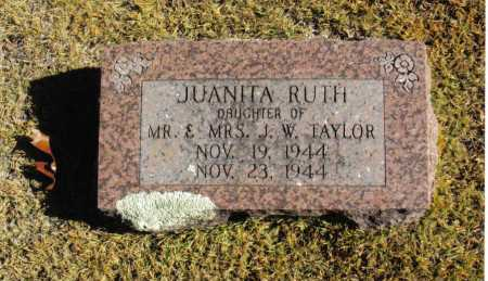 TAYLOR, JUANITA RUTH - Izard County, Arkansas | JUANITA RUTH TAYLOR - Arkansas Gravestone Photos