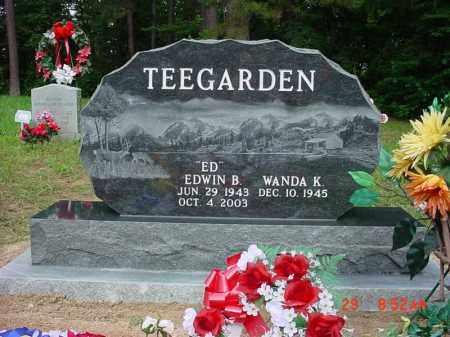 "TEEGARDEN (1), EDWIN BEN ""ED"" - Izard County, Arkansas | EDWIN BEN ""ED"" TEEGARDEN (1) - Arkansas Gravestone Photos"