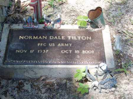 TILTON  (VETERAN), NORMAN DALE - Izard County, Arkansas | NORMAN DALE TILTON  (VETERAN) - Arkansas Gravestone Photos