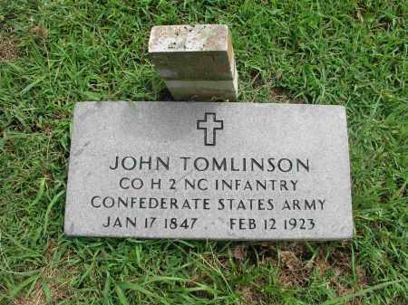 TOMLINSON  (VETERAN CSA), JOHN - Izard County, Arkansas | JOHN TOMLINSON  (VETERAN CSA) - Arkansas Gravestone Photos