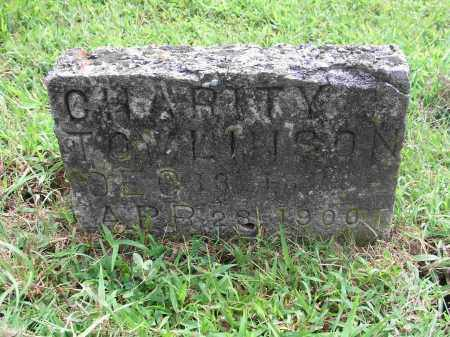 TOMLINSON, CHARITY - Izard County, Arkansas | CHARITY TOMLINSON - Arkansas Gravestone Photos