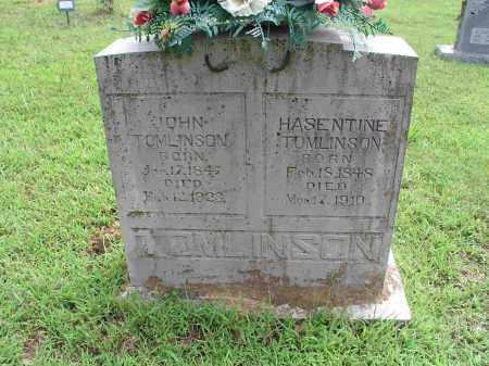 JENNNINGS TOMLLINSON, PARTENIA HASENTINE - Izard County, Arkansas | PARTENIA HASENTINE JENNNINGS TOMLLINSON - Arkansas Gravestone Photos