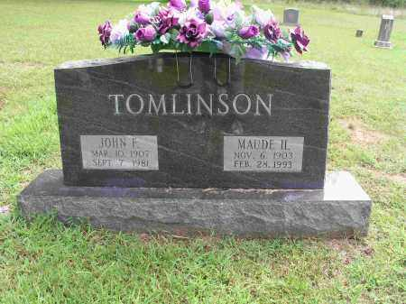 HANLEY TOMLINSON, MAUDE - Izard County, Arkansas | MAUDE HANLEY TOMLINSON - Arkansas Gravestone Photos