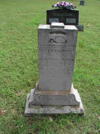 TOMLINSON, SARAH CLEMENTINE - Izard County, Arkansas   SARAH CLEMENTINE TOMLINSON - Arkansas Gravestone Photos