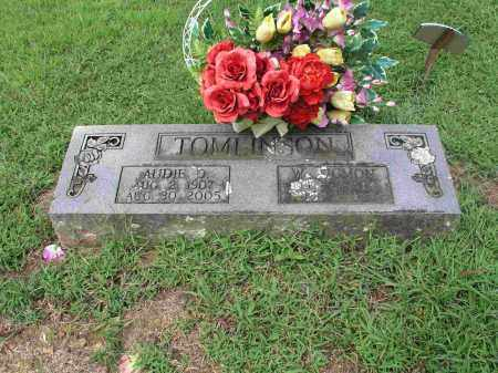 TOMLINSON, AUDIE D. - Izard County, Arkansas | AUDIE D. TOMLINSON - Arkansas Gravestone Photos