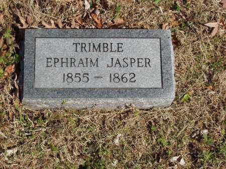 TRIMBLE, EPHRAIM JASPER - Izard County, Arkansas | EPHRAIM JASPER TRIMBLE - Arkansas Gravestone Photos