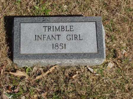 TRIMBLE, INFANT GIRL - Izard County, Arkansas   INFANT GIRL TRIMBLE - Arkansas Gravestone Photos