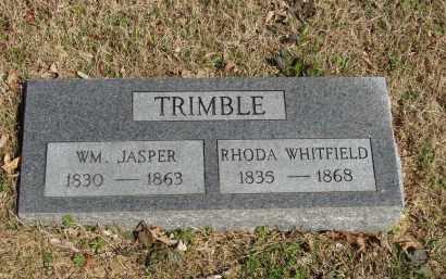 WHITFIELD TRIMBLE, RHODA - Izard County, Arkansas | RHODA WHITFIELD TRIMBLE - Arkansas Gravestone Photos