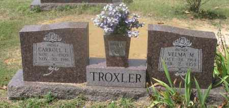 TROXLER, CARROLL L. - Izard County, Arkansas | CARROLL L. TROXLER - Arkansas Gravestone Photos